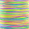 Polyestersnor, soft neon, Ø1mm, 10m
